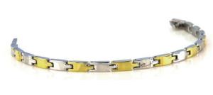 Two Tone Link Bracelet