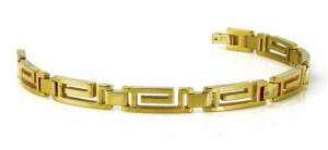 Maze Link Gold Bracelet